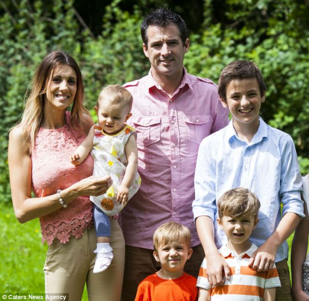 Models Direct Pleased For Model Family The Phillips Family In Daily Mail