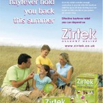 Jason, Chloe, Louis (back) and Michelle, Advert for Zirtek
